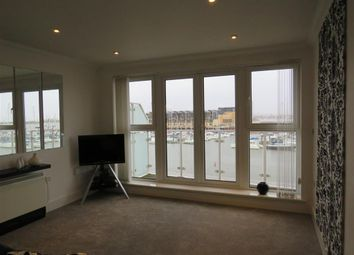 Thumbnail 2 bed flat to rent in Ty Gwendoline, Penarth Marina, Cardiff