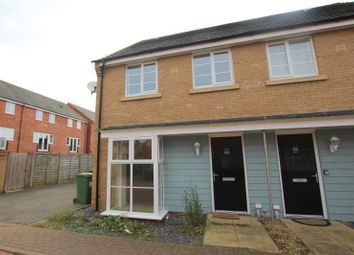 Thumbnail 3 bedroom semi-detached house to rent in Stonewort Avenue, Hampton Vale, Peterborough