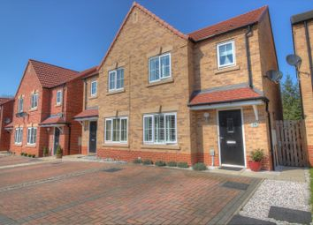 Thumbnail 3 bedroom semi-detached house for sale in Hallcoate View, Hull