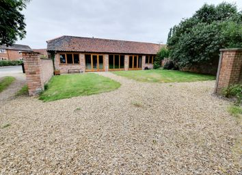 Thumbnail 2 bed barn conversion for sale in Manor Road, Easthorpe, Nottingham, Leicestershire