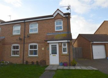 Thumbnail 3 bed semi-detached house for sale in Cygnet Close, Hornsea, East Yorkshire