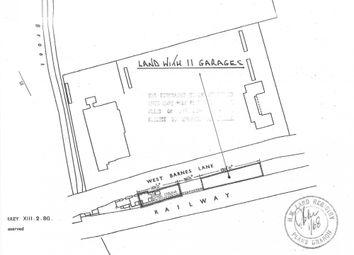 Thumbnail Land for sale in West Barnes Lane, New Malden, Surrey