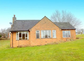 Thumbnail 3 bed detached bungalow for sale in Cheddleton Heath, Cheddleton, Nr Leek, Staffordshire