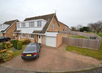 Thumbnail 3 bed semi-detached house for sale in Obelisk Rise, Kingsthorpe, Northampton