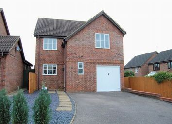 Thumbnail 4 bed detached house for sale in Fuchsia Close, Abington Vale, Northampton