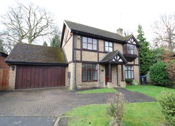 Thumbnail 4 bed detached house to rent in Dartnell Court, West Byfleet