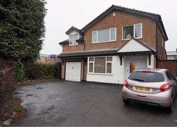 Thumbnail 4 bed detached house for sale in Kenmore Crescent, Coalville