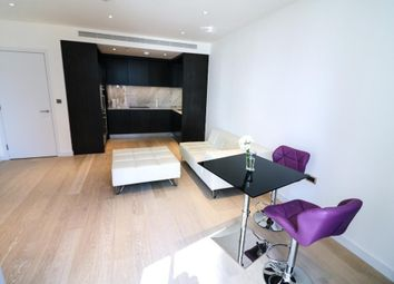 Thumbnail 1 bed flat to rent in Charrington Tower, 11 Biscayne Avenue, Canary Wharf, London