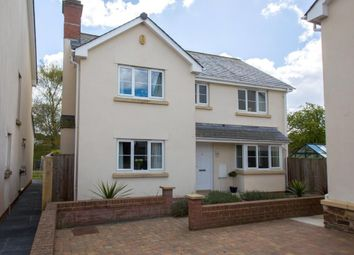 Thumbnail 4 bed detached house for sale in Chapel Close, Yeoford, Crediton, Devon