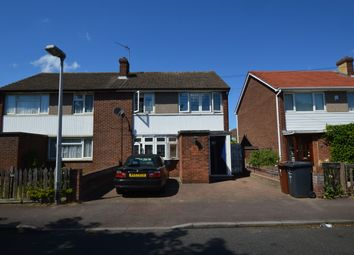 Thumbnail 3 bed semi-detached house for sale in Lansbury Avenue, Chadwell Heath, Romford, Essex