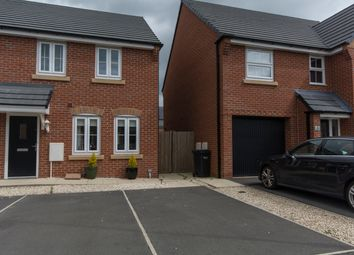 Thumbnail 3 bed semi-detached house for sale in Ffordd Bate, Connah's Quay, Deeside