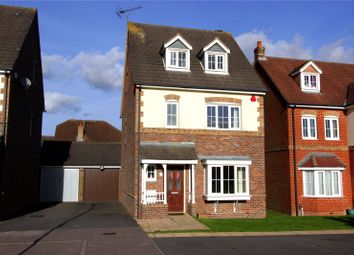 Thumbnail 4 bedroom detached house for sale in Halifax Close, Leavesden, Watford