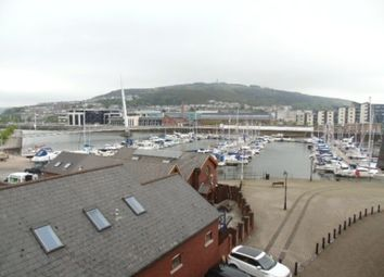 Thumbnail 1 bed flat to rent in Pocketts Wharf, Marina, Swansea