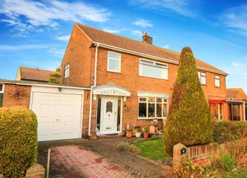 3 bed semi-detached house for sale in St. Johns Estate, South Broomhill, Morpeth NE65
