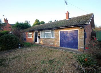 Thumbnail 3 bed detached bungalow for sale in Roman Road, Moulton Chapel, Spalding