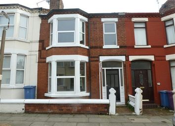 Thumbnail 3 bed terraced house to rent in Portelet Road, Stoneycroft, Liverpool