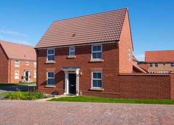 "Thumbnail 3 bed end terrace house for sale in ""Hatton"" at Tranby Park, Jenny Brough Lane, Hessle"