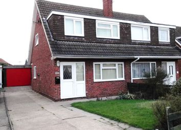 Thumbnail 3 bedroom semi-detached house to rent in Laughton Road, Beverley