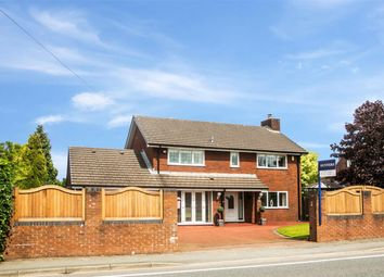 Thumbnail 4 bed detached house for sale in Newton Road, Lowton, Warrington