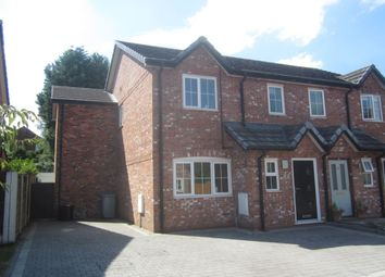 Thumbnail 3 bed semi-detached house for sale in The Hawthorns, Haslington, Crewe
