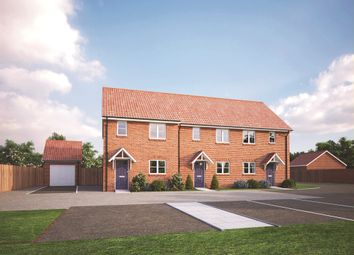 Thumbnail 2 bedroom end terrace house for sale in March Road, Wimblington, March