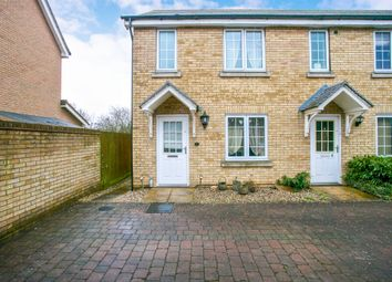 Thumbnail 2 bed end terrace house for sale in Yaffle Mews, Great Cambourne, Cambridge