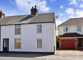 Thumbnail 2 bed end terrace house for sale in Island Road, Upstreet, Canterbury, Kent