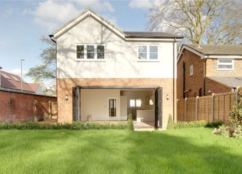 Thumbnail 4 bedroom detached house for sale in Burleigh Road, Addlestone, Surrey