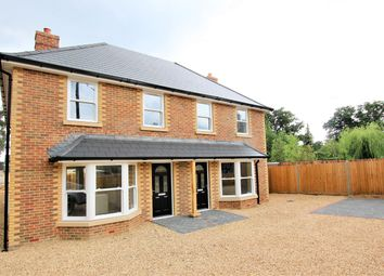 Thumbnail 3 bed semi-detached house for sale in Woolsbridge Road, St Leonards, Ringwood