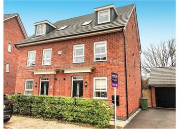 Thumbnail 4 bedroom town house to rent in Pack Horse Close, Northwich
