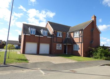 Thumbnail 5 bed detached house to rent in Carnoustie Close, Ashington