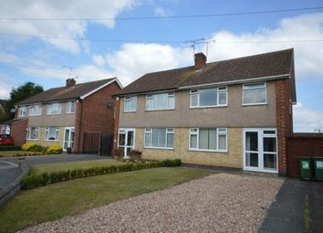 Thumbnail 3 bedroom semi-detached house to rent in Laurel Road, Blaby, Leicester