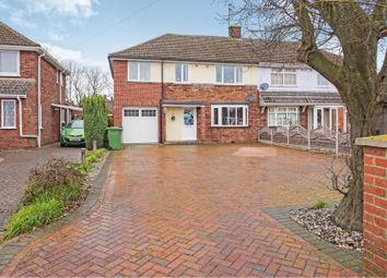Thumbnail 5 bed semi-detached house for sale in King John Avenue, King's Lynn