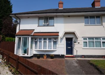 Thumbnail 3 bed end terrace house for sale in Leyton Grove, Kingstanding, Birmingham
