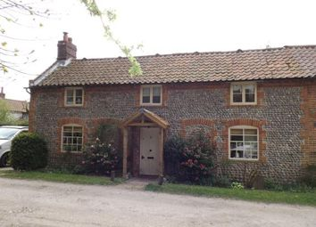 Thumbnail 2 bed semi-detached house for sale in Southrepps, Norwich, Norfolk