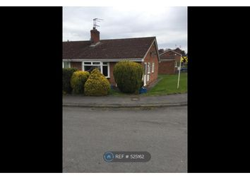 Thumbnail 2 bedroom bungalow to rent in Springfield Close, Thirsk