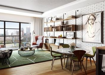 Thumbnail 1 bed flat for sale in Caledonia House, London City Island