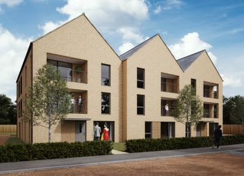 Thumbnail 2 bedroom flat for sale in The Coats, Plot 40, Divot Way, Basingstoke, Hampshire