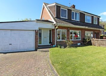 Thumbnail 3 bed semi-detached house for sale in Highwood Crescent, Moortown, Leeds