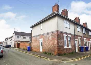 Thumbnail 3 bed end terrace house for sale in Ordish Street, Burton-On-Trent, Staffordshire