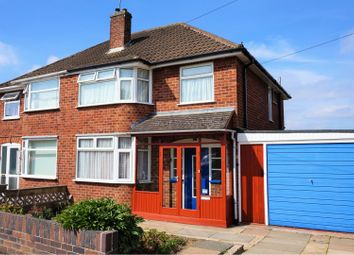 Thumbnail 3 bed semi-detached house for sale in Lynmouth Road, Leicester