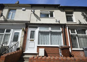 Thumbnail 1 bed terraced house to rent in Vicarage Road, Wolverhampton