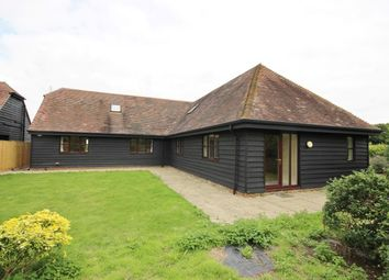 Thumbnail 4 bed barn conversion to rent in Upper Rodmersham Road, Rodmersham