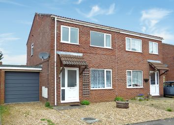Thumbnail 3 bed semi-detached house for sale in Matravers Close, Westbury