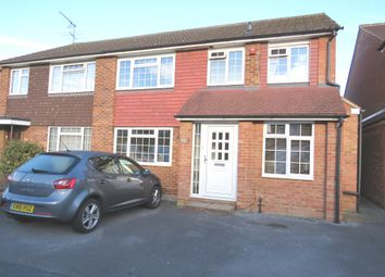 Thumbnail 4 bed semi-detached house for sale in Ranworth Avenue, Hoddesdon