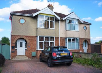 Thumbnail 3 bed semi-detached house for sale in Cheney Manor Road, Swindon