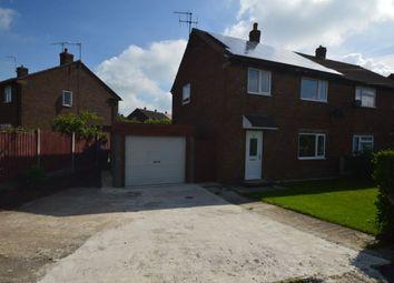 Thumbnail 3 bed semi-detached house for sale in Bracken Avenue, Heath, Chesterfield