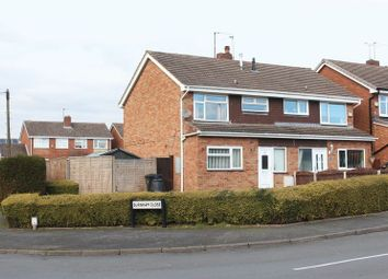 Thumbnail 3 bed semi-detached house for sale in Burnham Close, Kingswinford