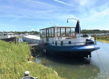 Thumbnail 3 bed houseboat for sale in Salterns Boatyard, Salterns Lane, Bursledon