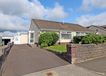 Thumbnail 3 bedroom semi-detached bungalow for sale in Red Roofs Close, Pencoed, Bridgend.